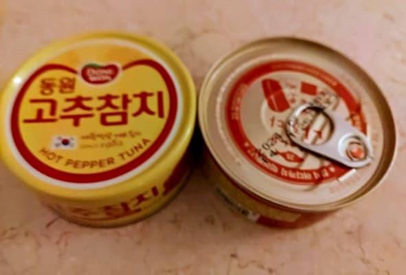 キムチ味の缶詰