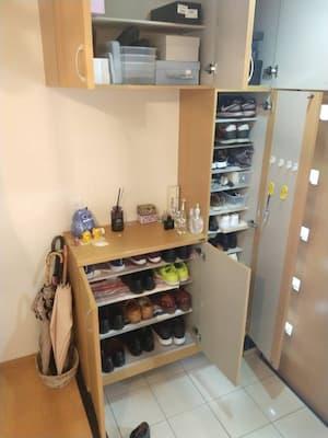 整理した靴箱